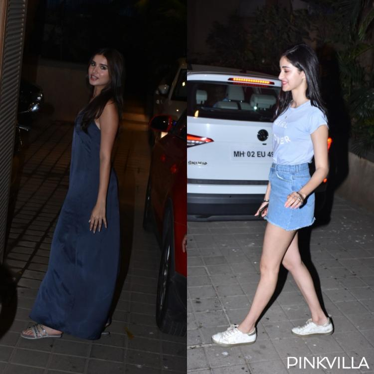 Photos: Ananya Panday and Tara Sutaria arrive in style at Student Of The Year 2 director Punit's residence