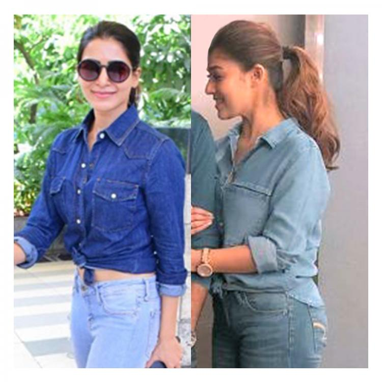 Fashion Face Off: Nayanthara or Samantha Akkineni; Who rocked denim on denim look?