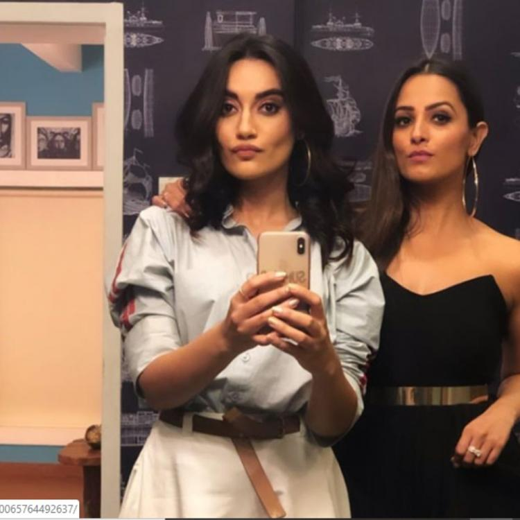 Naagin 3 actresses Anita Hassanandani & Surbhi Jyoti are giving major BFF goals with his throwback PIC