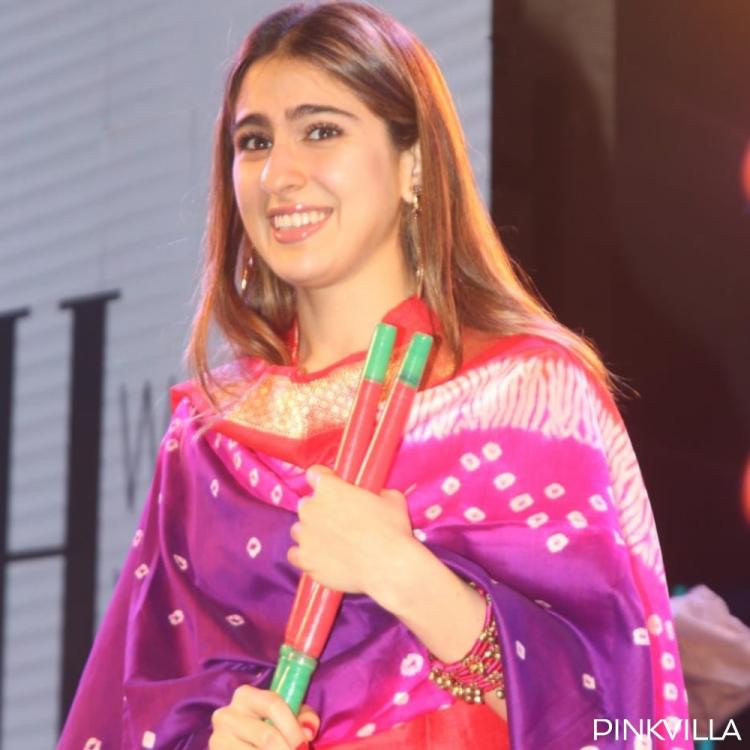 PHOTOS: Sara Ali Khan flaunts her captivating smile as she graces an event