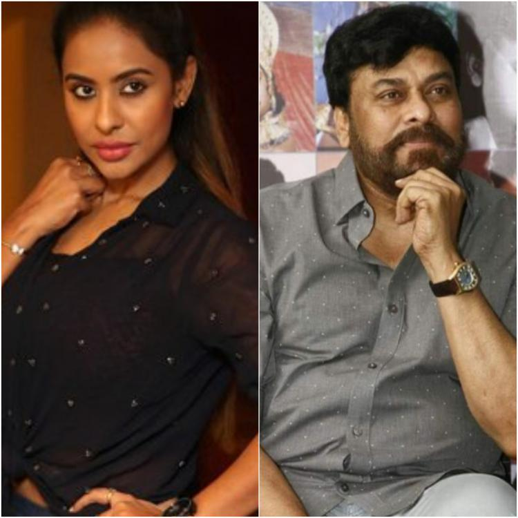 Sri Reddy targets Chiranjeevi this time; Is it due to Tamanna Simhadri?