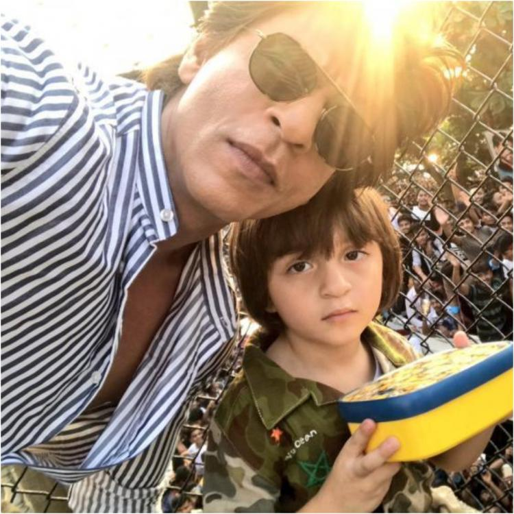 Shah Rukh Khan has a witty reply to queries of AbRam & him working together; REVEALS his son's favourite film