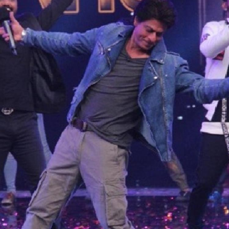 Shah Rukh Khan shaking a leg to Lungi Dance with Trinbago Knight Riders' Dwayne Bravo is winning hearts; WATCH