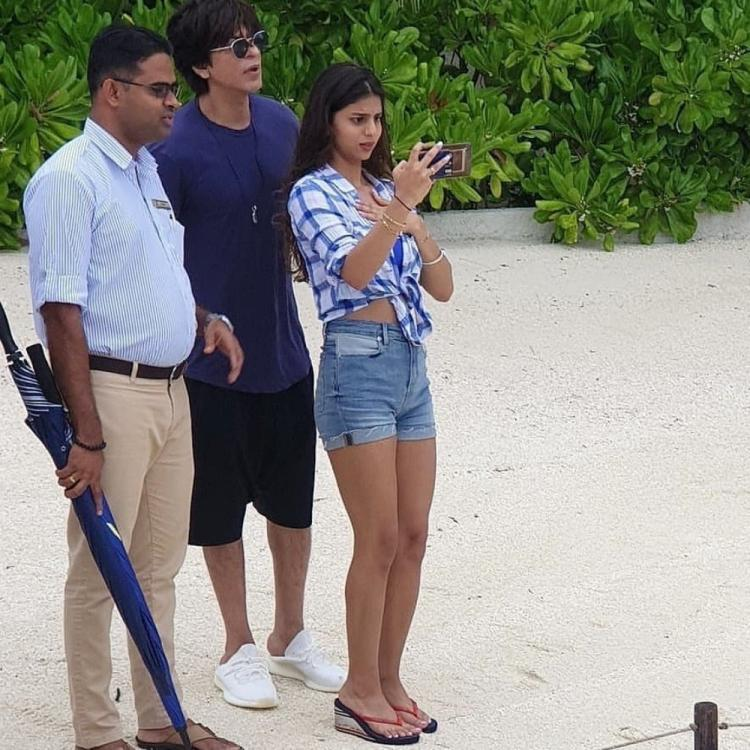 Shah Rukh Khan & daughter Suhana Khan's latest pic from the Maldives vacay is bound to leave you intrigued