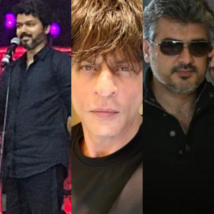 Shah Rukh Khan speaks about Thalapathy Vijay, Ajith, Dhanush and working in Tamil cinema; Read On