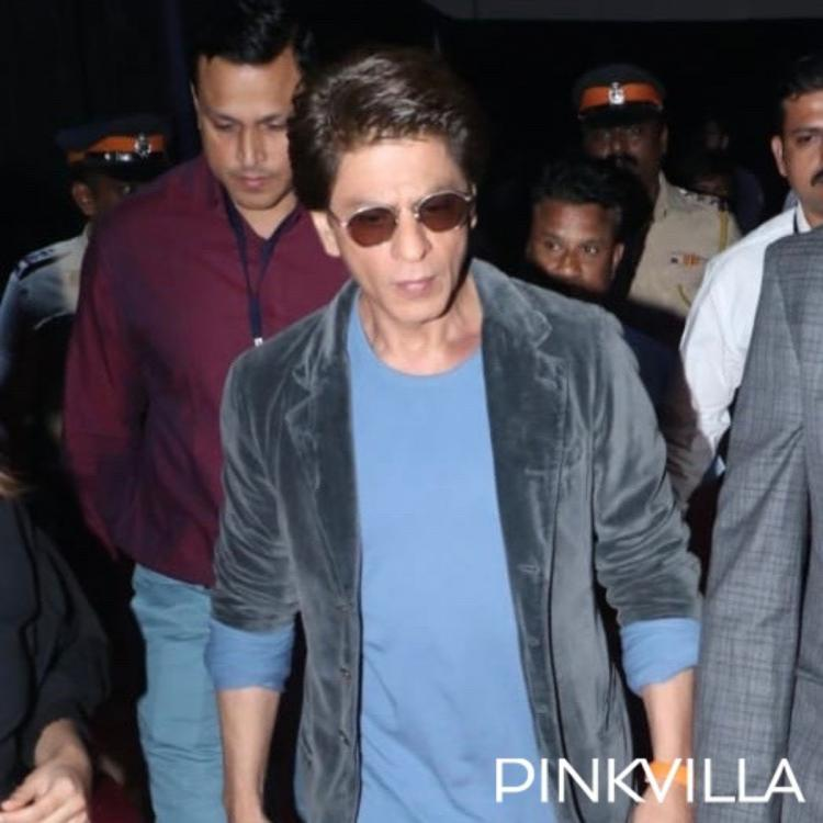 Umang 2020: Shah Rukh Khan looks stylish in a casual look as he arrives at the event; View Pics
