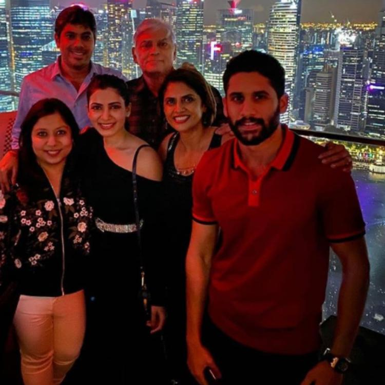 PHOTOS: Samantha Akkineni and Naga Chaitanya spend time with their friends in Singapore; Check it out