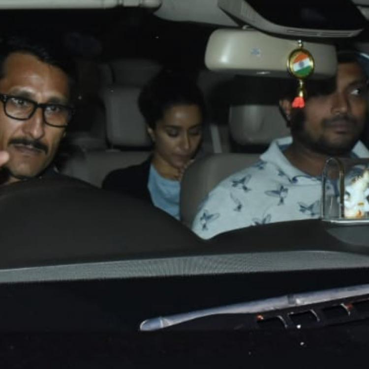 PHOTOS: Shraddha Kapoor hides her face as she gets papped arriving at a dubbing studio