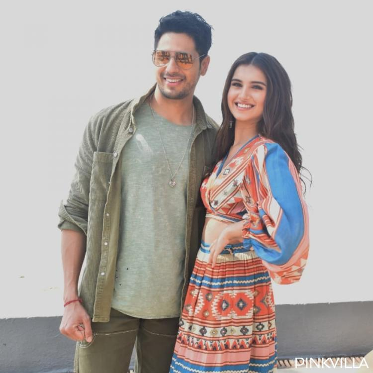 Sidharth Malhotra & Tara Sutaria look adorable together as they begin the promotions of Marjaavaan; View Pics