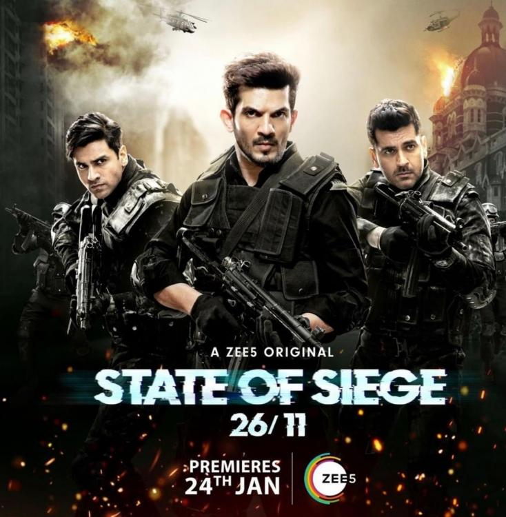 State of Siege: 26/11 REVIEW: Arjun, Arjan, Vivek's show is an unapologetic & REAL portrayal of Mumbai attack