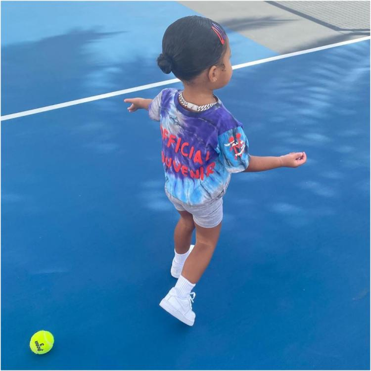 Stormi Webster flaunts a new hairdo; Kylie Jenner treats fans with her adorable pictures