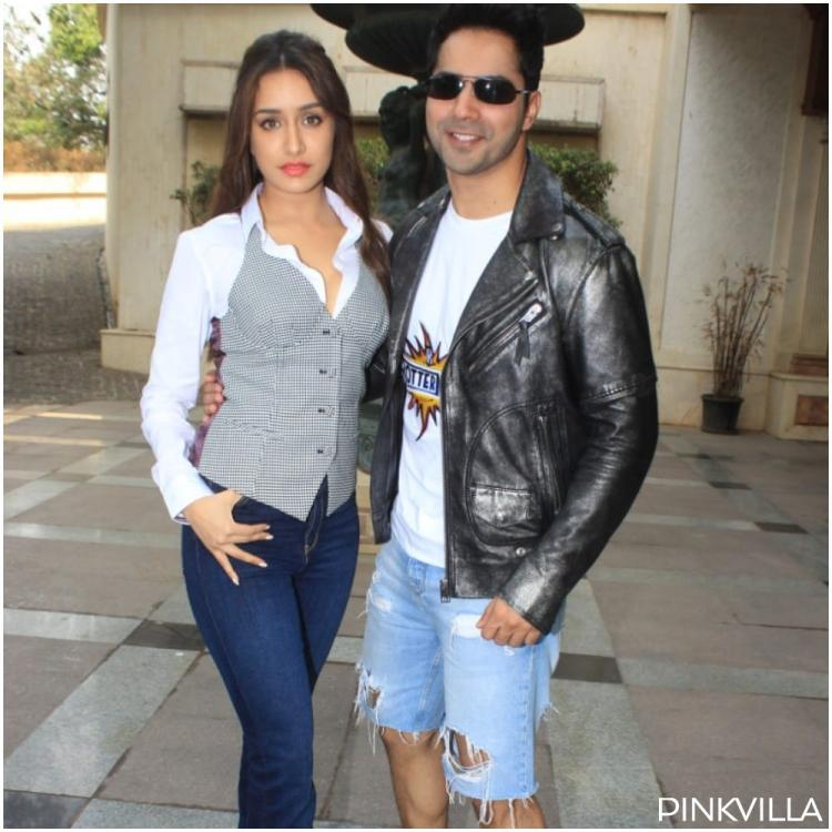 Street Dancer 3D: Varun Dhawan is full of swag in ripped shorts & Shraddha Kapoor keeps it chic for promotions