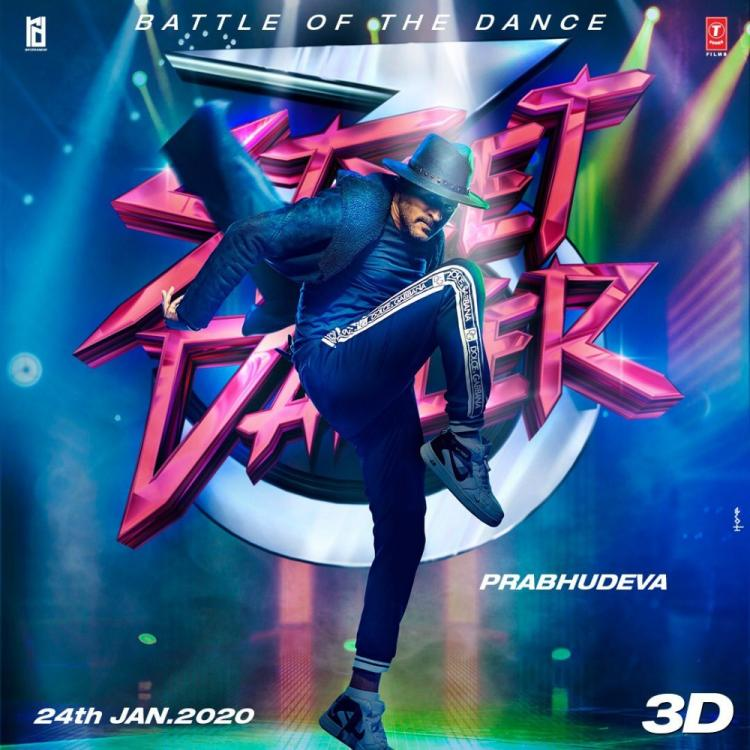 Street Dancer 3D: Varun Dhawan drops a poster featuring 'king of dance' Prabhudheva and adds to the excitement