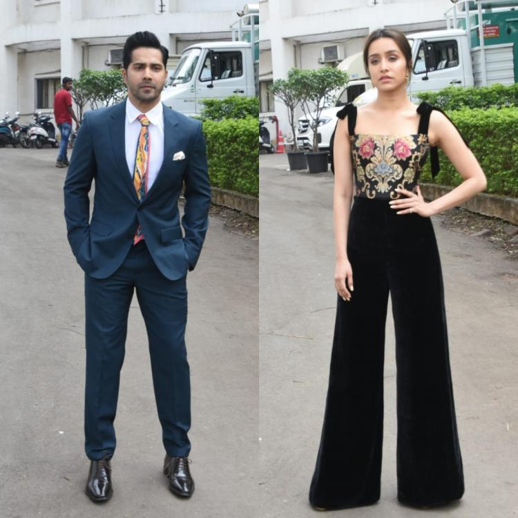 Street Dancer 3D: Varun Dhawan suits up in style and Shraddha Kapoor looks elegant at the film's promotions