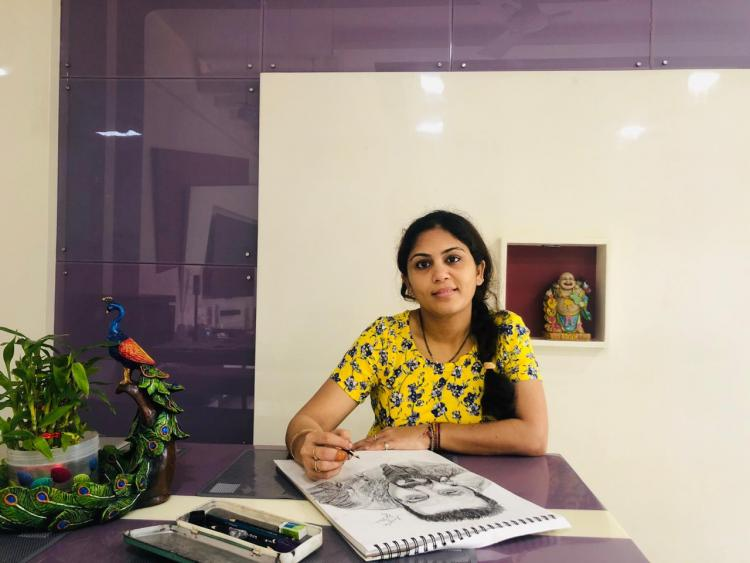 Lockdown 4: A housewife and sketch artist talks inspirationand work life balance duringthe lockdown