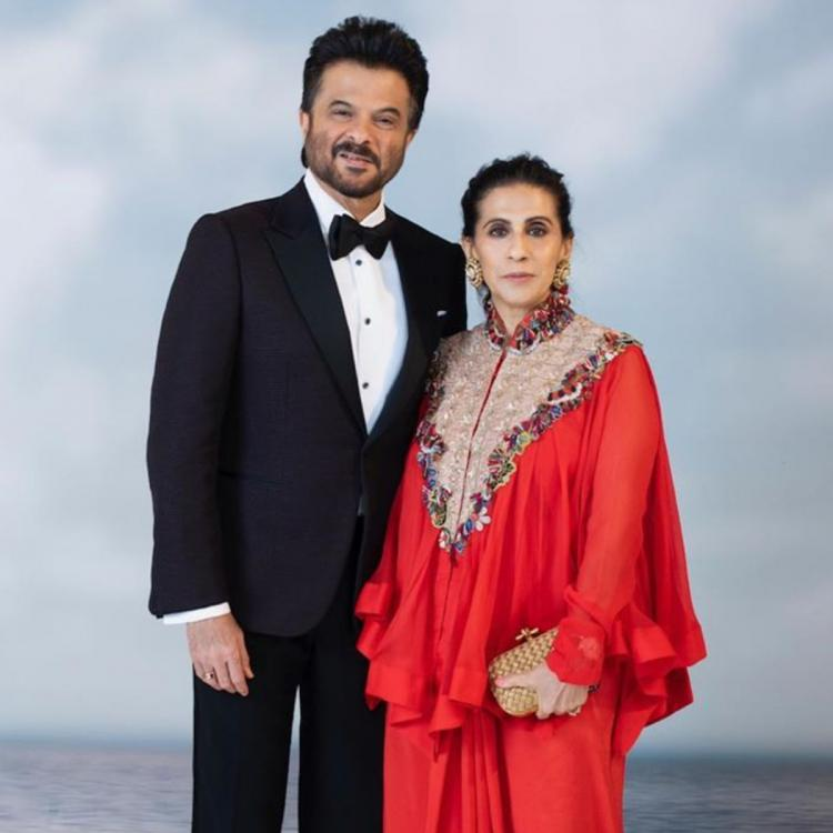 Sunita Kapoor pens a sweet wish for Anil Kapoor on their 36th anniversary; Says 'My Husband is My Happy Place'
