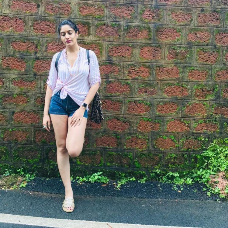 Surbhi Chandna goes casual as she sets her 'holiday mode' on; See Pics