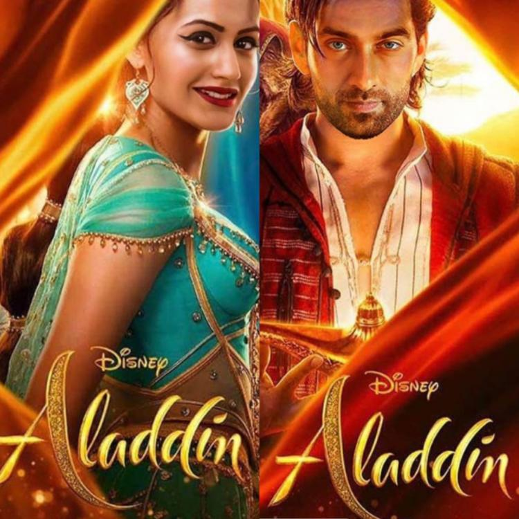 Ishqbaaaz co stars Surbhi Chandna and Nakuul Mehta reimagined as Aladdin characters are adorable; view PICS