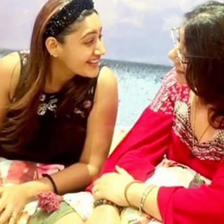 Surbhi Chandna bonding with her mom as they sing during quarantine is every mother and daughter ever; WATCH