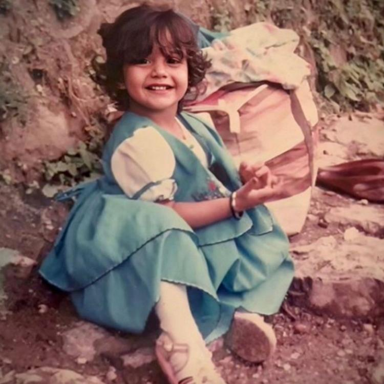 Ishqbaaaz diva Surbhi Chandna shares a childhood throwback picture and it has fans going aww