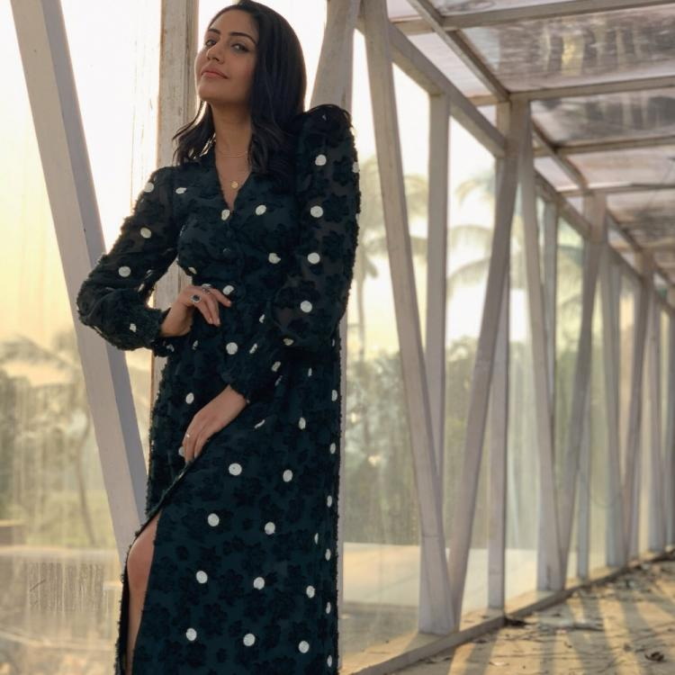Sanjivani's Surbhi Chandna looks alluring in a green dress with kicks & we can't take our eyes off her
