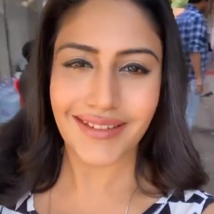 Sanjivani actress Surbhi Chandna's makeup is as subtle as it gets making it perfect for a Sunday outing