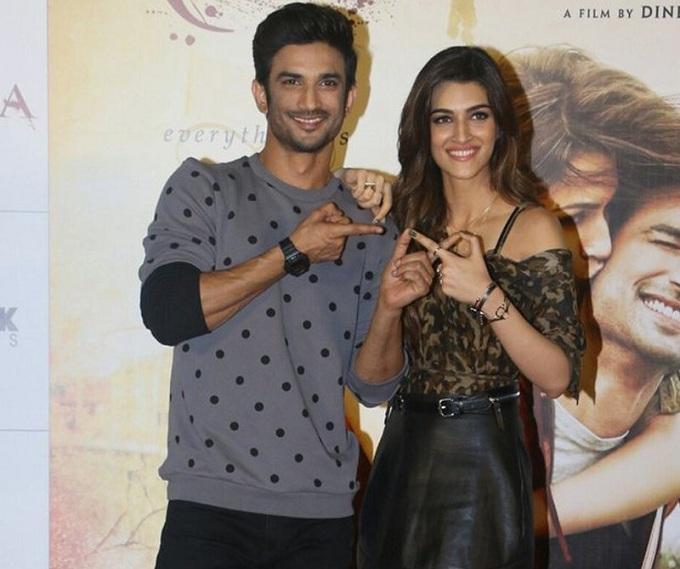 Kriti Sanon says 'We are friends, fond of him' when asked about dating rumours with Sushant Singh Rajput