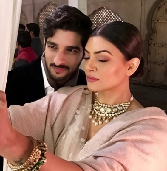Sushmita Sen and boyfriend Rohman Shawl's social media PDA is winning the internet