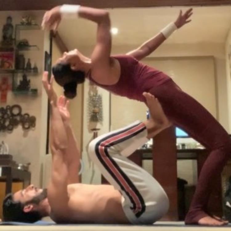 Sushmita Sen & her 'rooh' Rohman Shawl take couple goals to the next level with their inspiring workout; WATCH