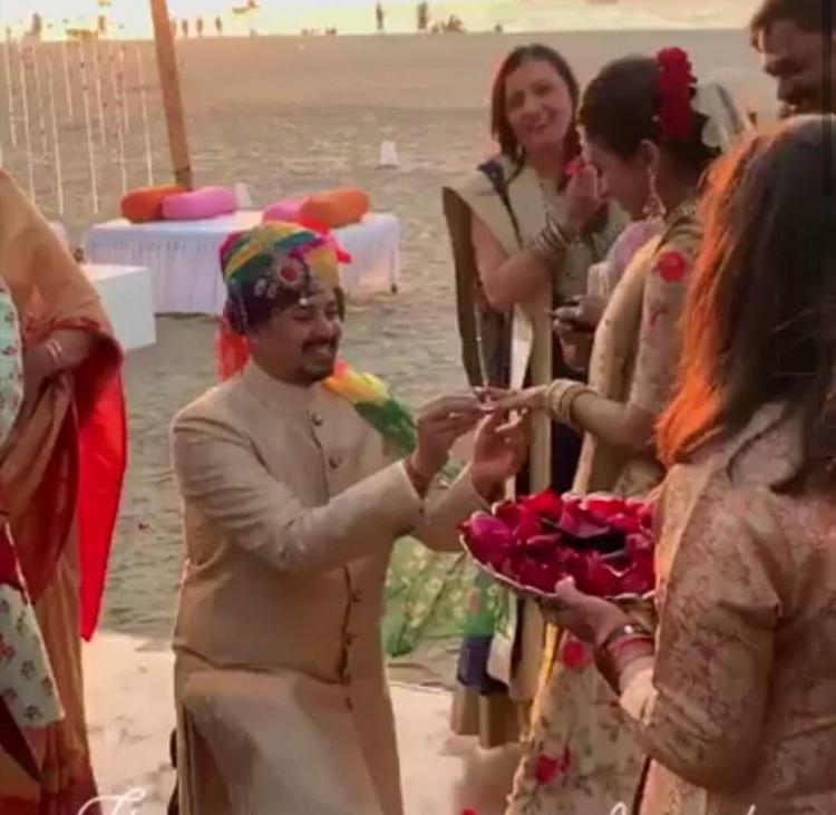 Congratulations are in order as Yeh Rishta Kya Kehlata Hai's Mohena Singh and Suyesh Rawat are now engaged