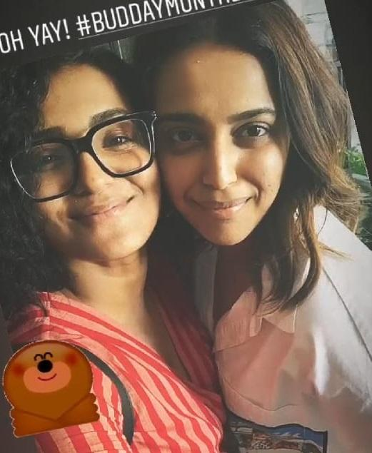 Swara Bhasker gets a cute birthday wish from her buddy, actress Parvathy; see pic