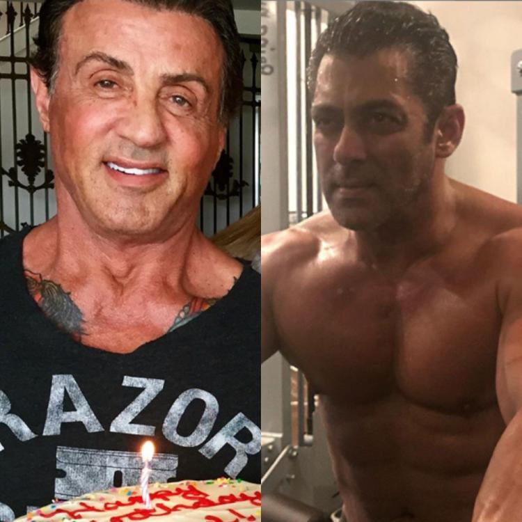 Sylvester Stallone is all praises for Salman Khan's video of a specially abled fan painting his portrait