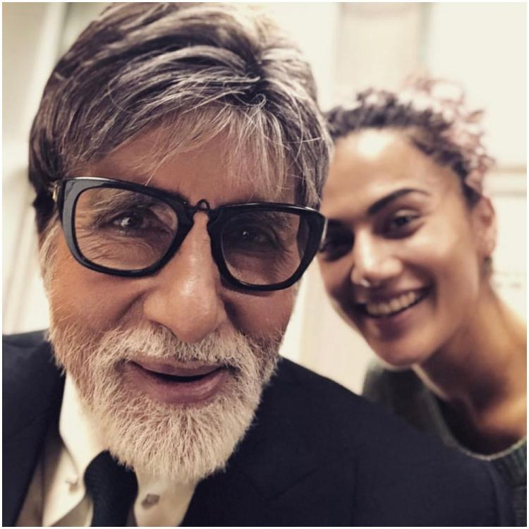 Saand Ki Aankh actor Taapsee Pannu shares the film's teaser with Amitabh Bachchan; Check out what he says