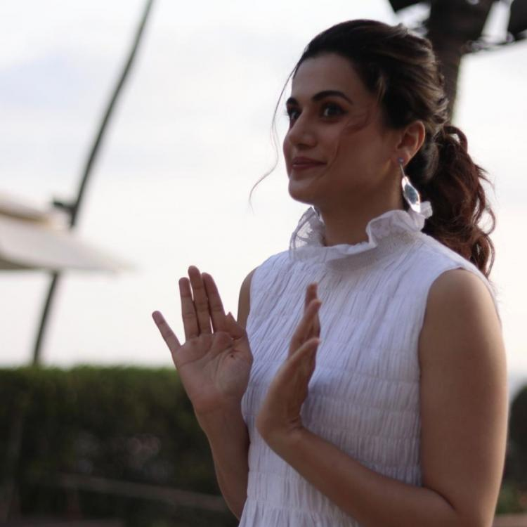 Taapsee Pannu just pulled a Rangoli Chandel in an EPIC tweet to Varun Dhawan & won the internet