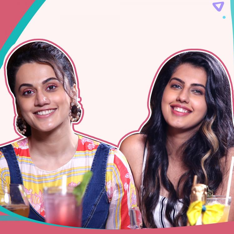 EXCLUSIVE: Taapsee Pannu and Shagun Pannu's HILARIOUS banter about their bond and boys, watch video