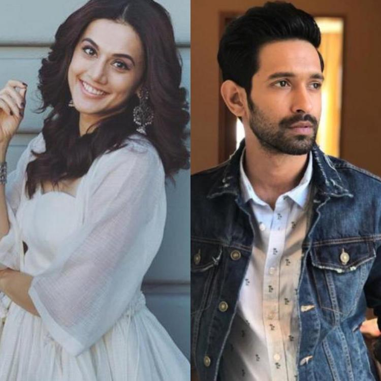 Taapsee Pannu and Vikrant Massey to collaborate for Vinil Mathew's romantic thriller? Find Out