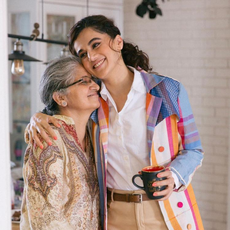Taapsee Pannu shares a special message from her mother & dedicates Saand Ki Aankh to her; Check it out