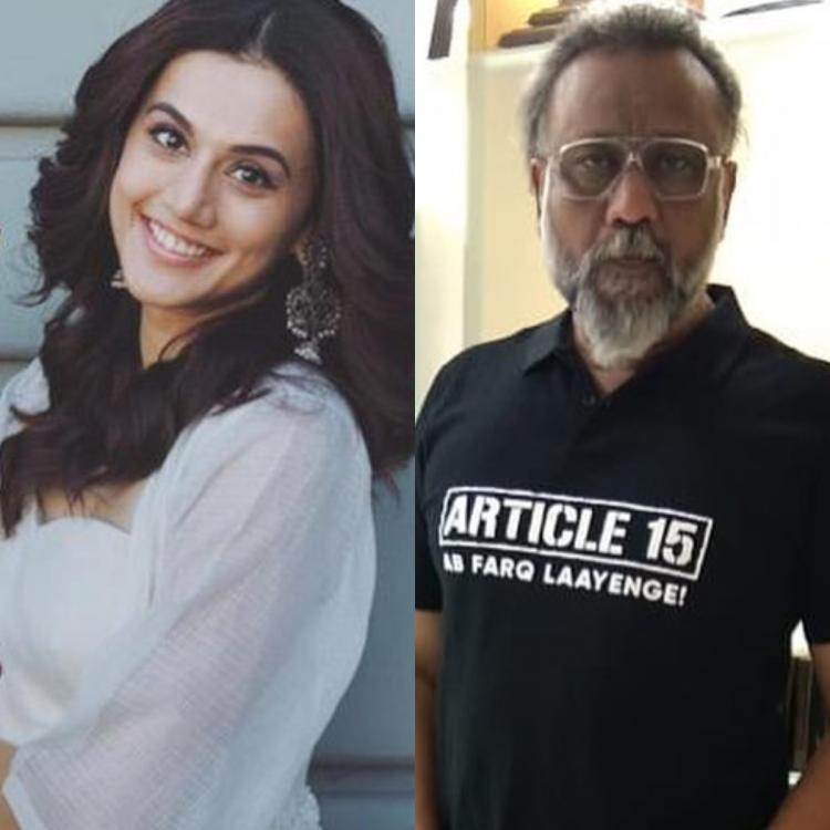 Taapsee Pannu collaborates with director Anubhav Sinha for his next