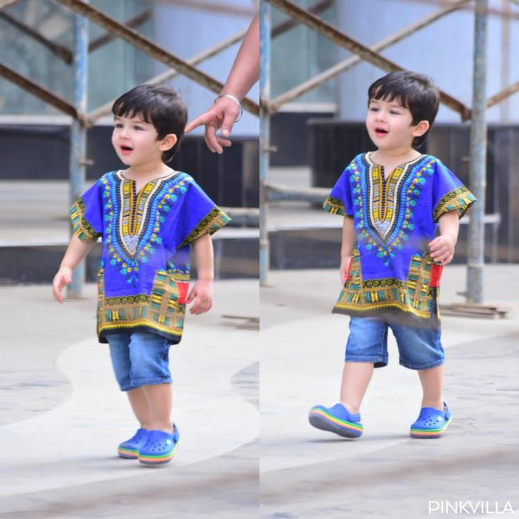 Taimur Ali Khan looks cool as a cucumber in his latest outing with Kareena Kapoor Khan and Saif Ali Khan