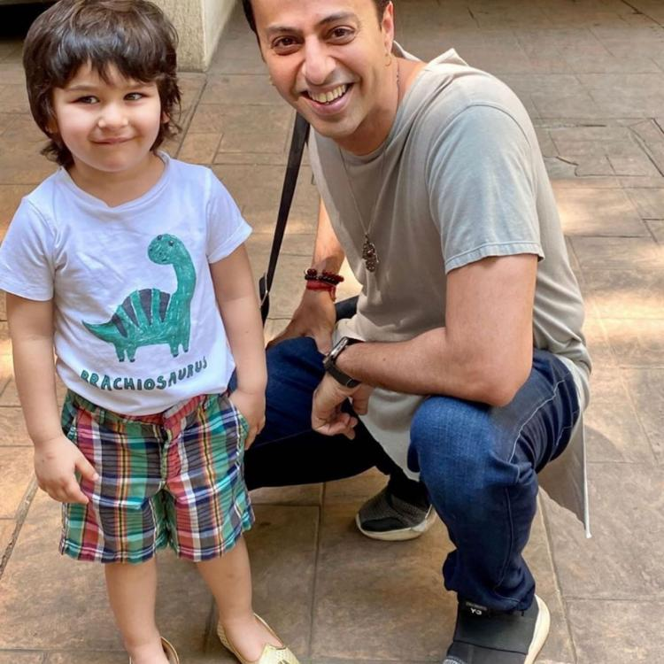 PHOTO: Taimur Ali Khan is following in footsteps of mom Kareena Kapoor Khan as he teams up juttis with casuals