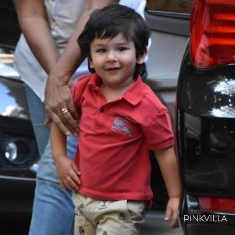 Taimur Ali Khan looks adorable as he waits for mommy Kareena Kapoor Khan to finish her workout; See the video