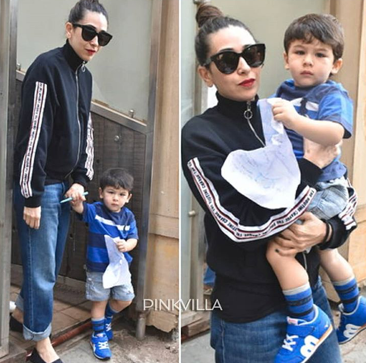 Taimur Ali Khan ditches mom Kareena Kapoor's company & goes out on date with aunt Karisma Kapoor
