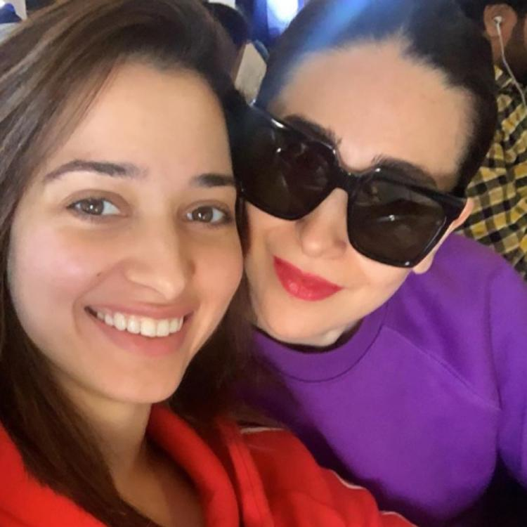 Tamannaah Bhatia is elated after a chance meeting with Karisma Kapoor; pens a heartfelt note for the latter