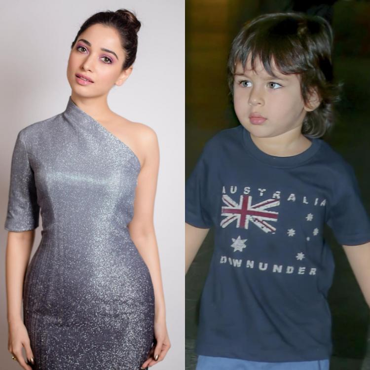 Taimur Ali Khan finds a new fan in Tamannaah Bhatia; The actress calls him a 'miniature version of the prince'