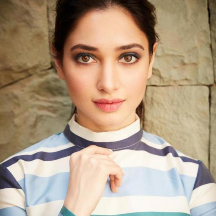 COVID 19: Tamannaah Bhatia advises fans to use alcohol based sanitizers; Adds, ' We should not spread fear'