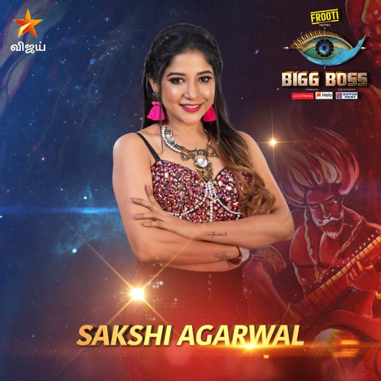 Bigg Boss Tamil 3: Sakshi Agarwal eliminated from the show this week