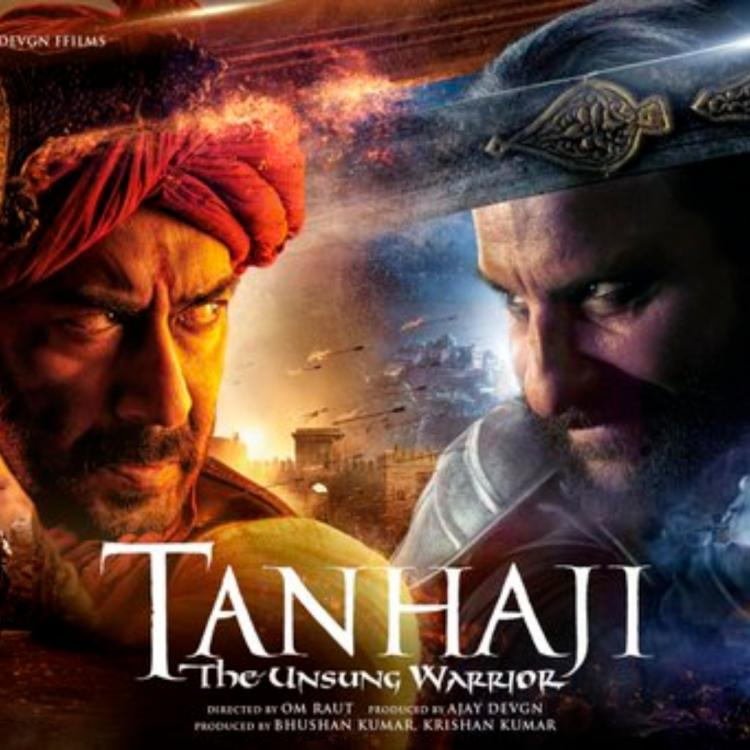 Tanhaji The Unsung Warrior Posters: Ajay Devgn and Saif Ali Khan are all set for an epic battle; Check it out