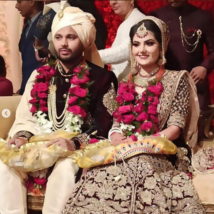 PHOTOS: Tanvi Nagi ties knot with beau Mohit Banwait in Chandigarh; Check it out