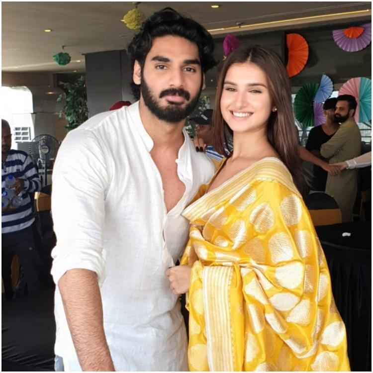 Image result for Tara Sutaria will be seen alongside Ahan Shetty in the new film