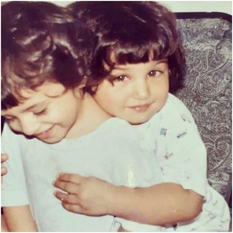 Tara Sutaria lights up the internet with cute childhood photo with sister Pia; Says 'We look like baby momos'
